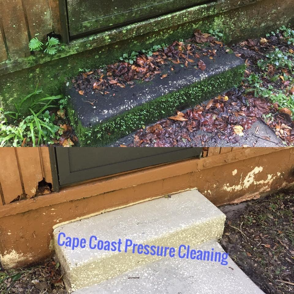 Photo number 14 of Cape Coast Pressure Cleaning & Soft Washing's best work performing a Concrete cleaning job