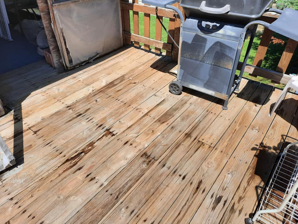Photo number 5 of Watson Exterior Cleaning's best work performing a Decks & Patios job