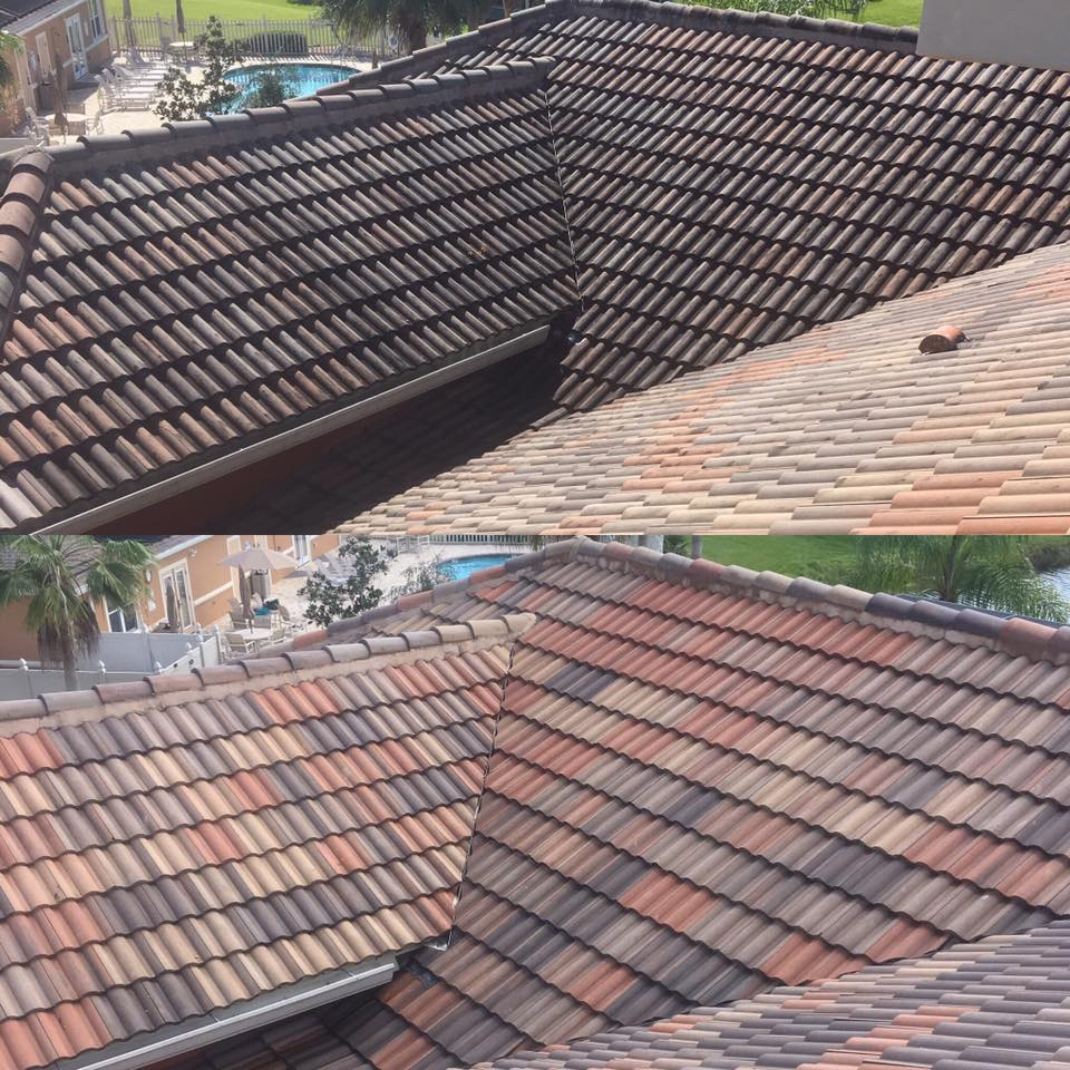 Photo number 10 of Cape Coast Pressure Cleaning & Soft Washing's best work performing a Roof cleaning job