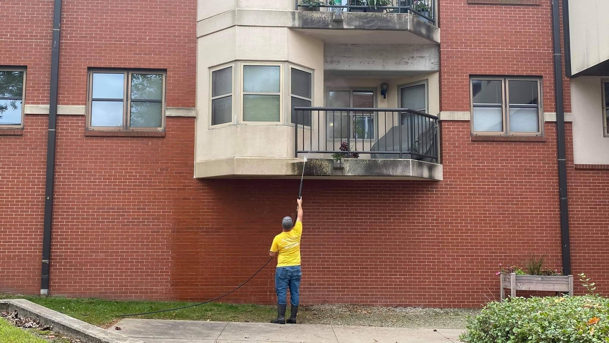 Photo number 22 of Paneless Window Cleaning LLC's best work performing a null job
