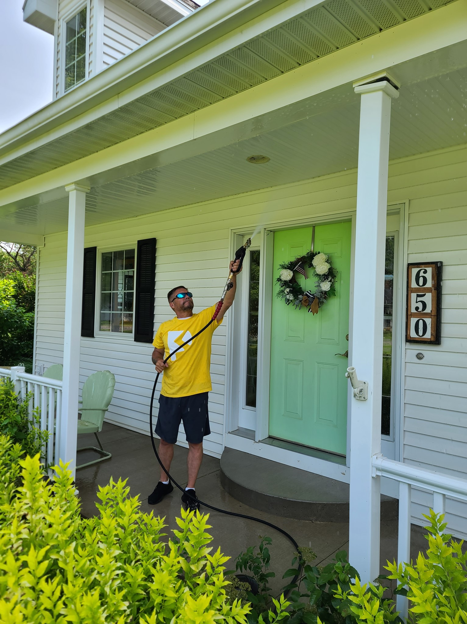 Photo number 12 of Paneless Window Cleaning LLC's best work performing a null job
