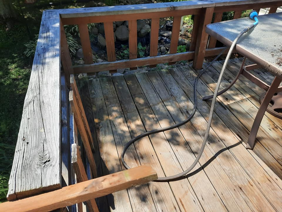 Photo number 8 of Watson Exterior Cleaning's best work performing a Decks & Patios job