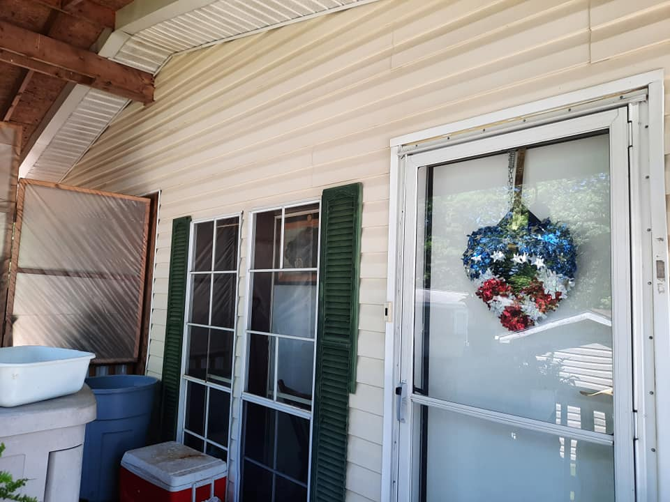 Photo number 1 of Watson Exterior Cleaning's best work performing a Home Softwash job
