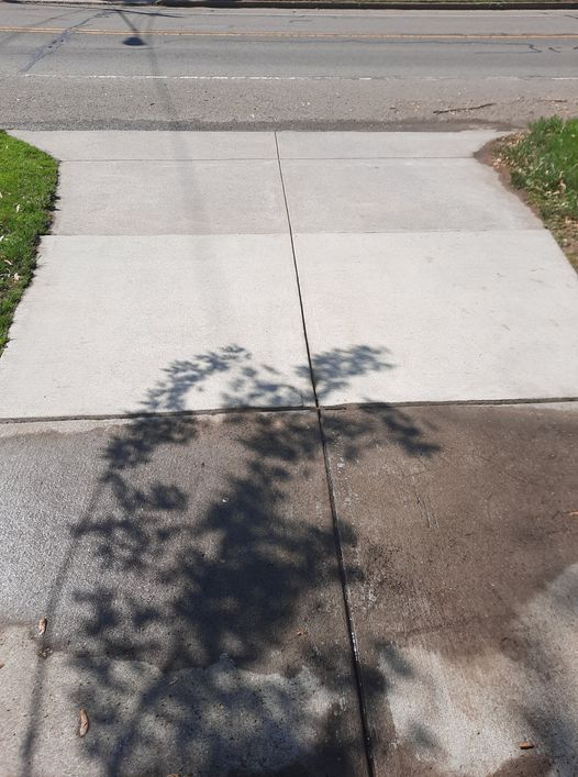 Photo number 14 of Watson Exterior Cleaning's best work performing a Driveway & Sidewalk Cleaning job