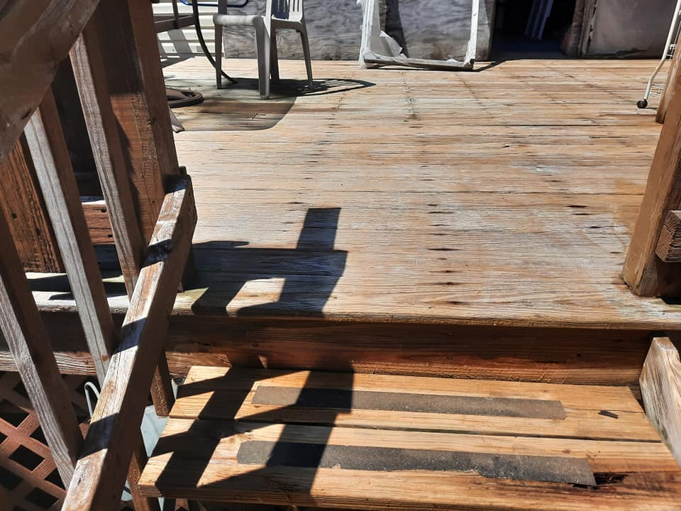 Photo number 11 of Watson Exterior Cleaning's best work performing a Decks & Patios job