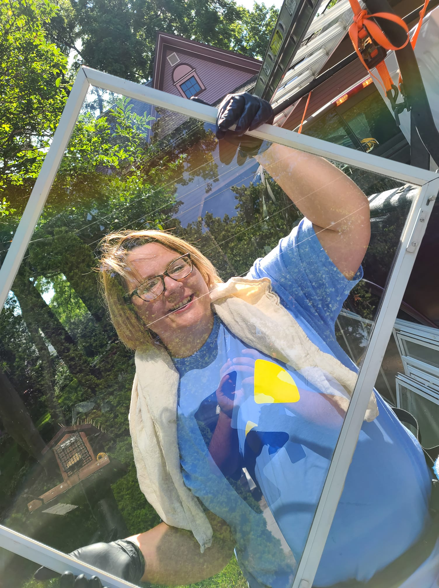 Photo number 18 of Paneless Window Cleaning LLC's best work performing a null job