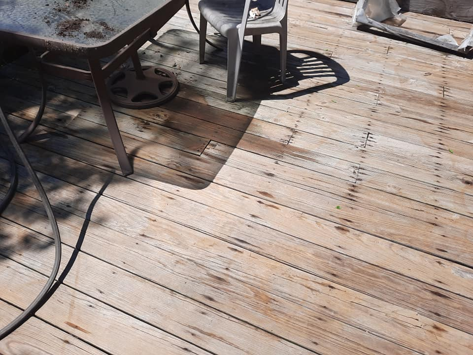 Photo number 12 of Watson Exterior Cleaning's best work performing a Decks & Patios job